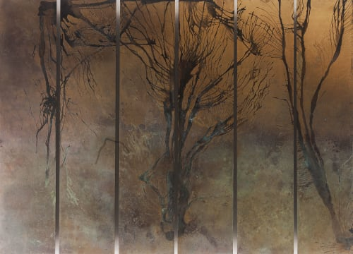 Jackie MacLeod Metal Artist - Murals and Art