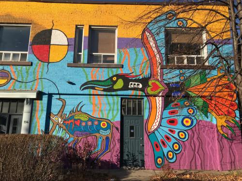 Philip Cote III - Murals and Street Murals