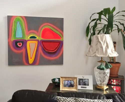 Paintings by Adrianna Speer seen at Private Residence, Denver - Composition No. 3