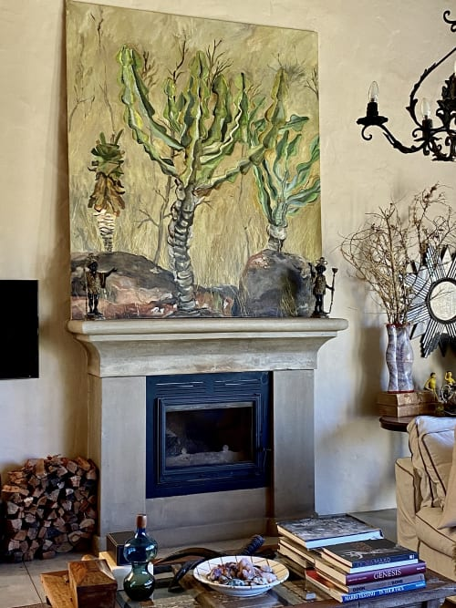 Paintings by Susi Rood Art seen at Private Residence, Al Rideem - The Bushveld