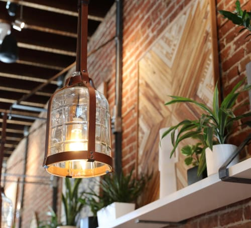Interior Design by Studio KDA seen at Tender Greens Berkeley, Berkeley - Custom Decorative Lighting