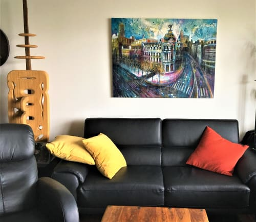 Paintings by BLYTHE SCOTT seen at Private Residence - 'Either Way'