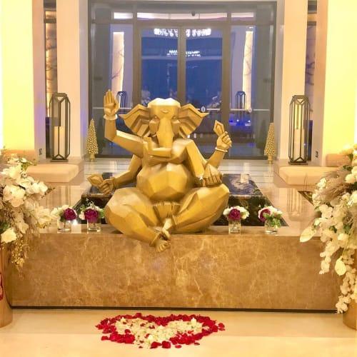 Sculptures by Raj Shahani seen at InterContinental Fujairah Resort, Al Aqah - Ganesha