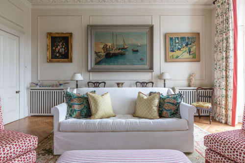 Interior Design by Barlow & Barlow Design Ltd. / Lucy Sear Barlow seen at Private Residence, London - Barrister Interior