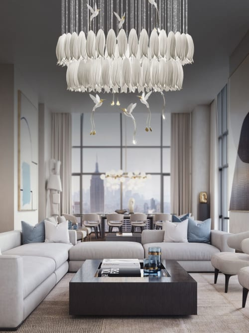 Lighting Design by Sagarti | High-end Chandelier & Decor manufacturers. seen at Private Residence, Moscow - Alba Chandelier Project