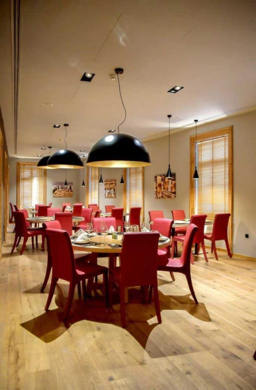 Chairs by Anesis, Comfortable Designs seen at Hydrama Grand Hotel, Drama - Dining Chair