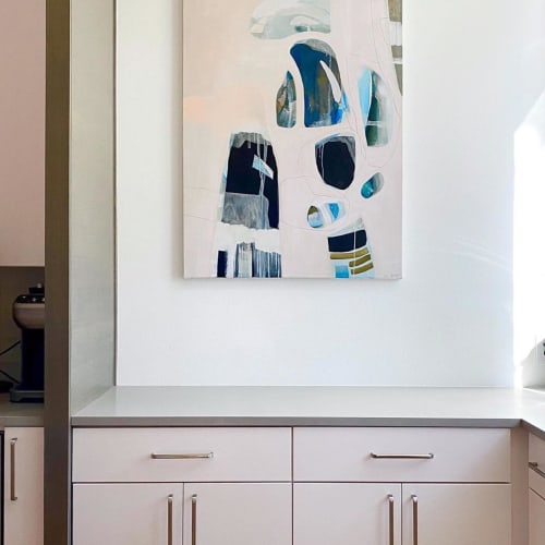 Paintings by Cat Huss seen at Private Residence, Austin - Defining Moments