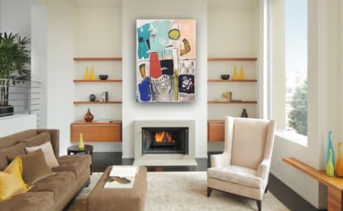 Macrame Wall Hanging by Maureen Fulgenzi seen at Chandler Gallery, Jupiter - Future Thought