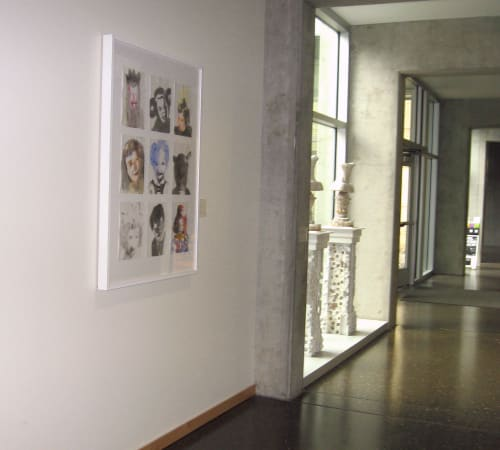 Paintings by Cynthia Lahti Fine Art seen at Portland Community College Rock Creek campus building 7, Portland - Nine Kinder