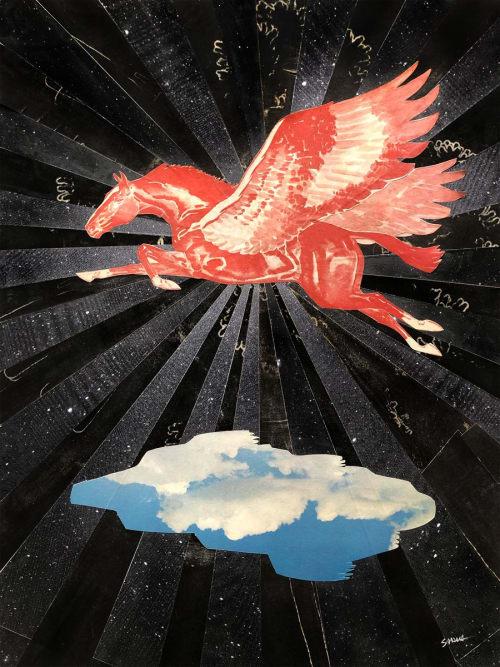 Art Curation by Sarah Presson seen at ARRIVE Austin, Austin - Fine Art Collage
