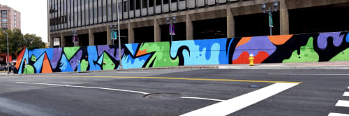 Matt Corrado - Murals and Street Murals