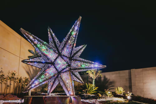 Public Sculptures by Creative Machines seen at Four Seasons Hotel Abu Dhabi, Abu Dhabi - As Above, So Below