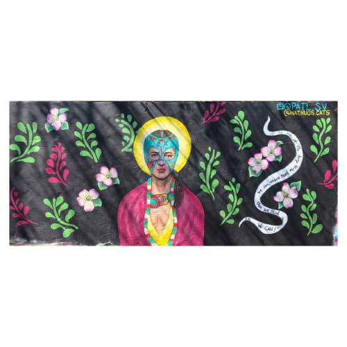 Murals by Patl.sv seen at Petit Chou, Atlanta - Lucha Frida