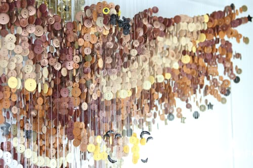 Sculptures by Augusto Esquivel seen at Private Residence, Miami - Golden Eagle