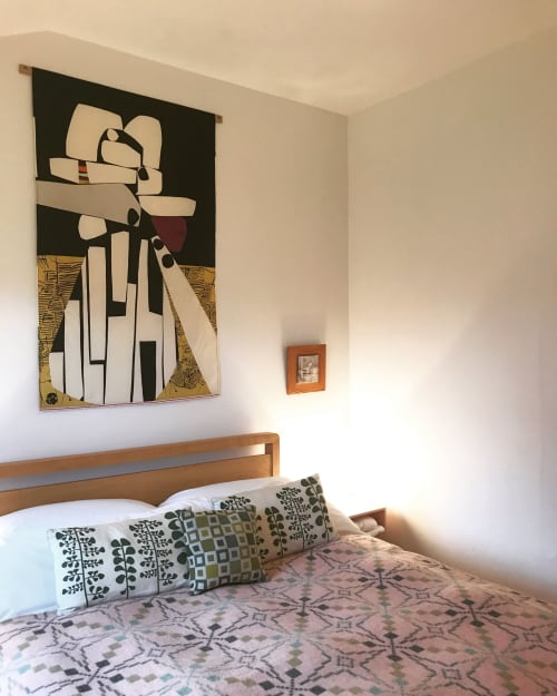 Wall Hangings by Eve Campbell seen at Private Residence, Tighnabruaich - Inuksuit
