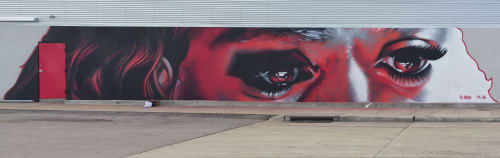 Street Murals by CP1 seen at Houston, Houston - Pictures Plus