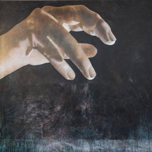 Paintings by Andrew Ramiro Tirado seen at Atrium Art, Tulsa - Motus