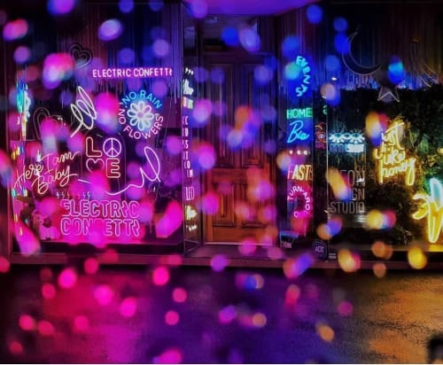 Electric Confetti - Signage