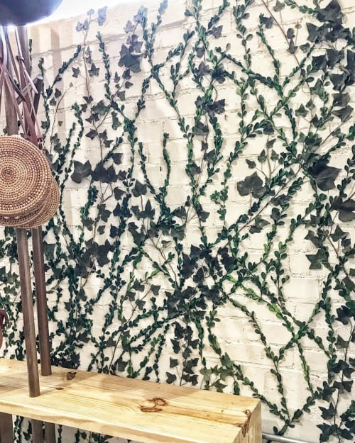 Art & Wall Decor by Emily Barton Design seen at Clad & Cloth Warehouse, Provo - Wall of Trailing Vines
