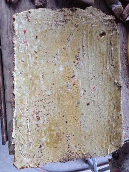 Ceramic Plates by Lynn Mahon seen at PABU Izakaya, California Street, San Francisco, CA, San Francisco - Uwazouri Tray