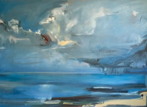 Art Curation by Caitlin Flynn seen at Private Residence, Carmel-by-the-Sea - Private Residence