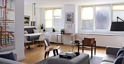 Interior Design by Tina Ramchandani Creative seen at Private Residence, New York - Interior Design