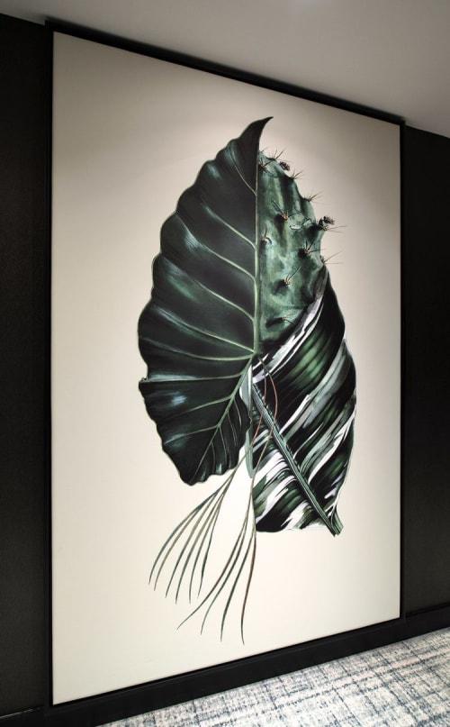 Art Curation by Sarah Svetlana seen at Hyatt Regency Amsterdam, Amsterdam - Horticultural graphics