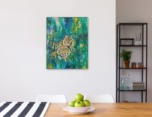 Paintings by Virginia Rose seen at Private Residence | Melbourne, VIC, Melbourne - Burning Bright