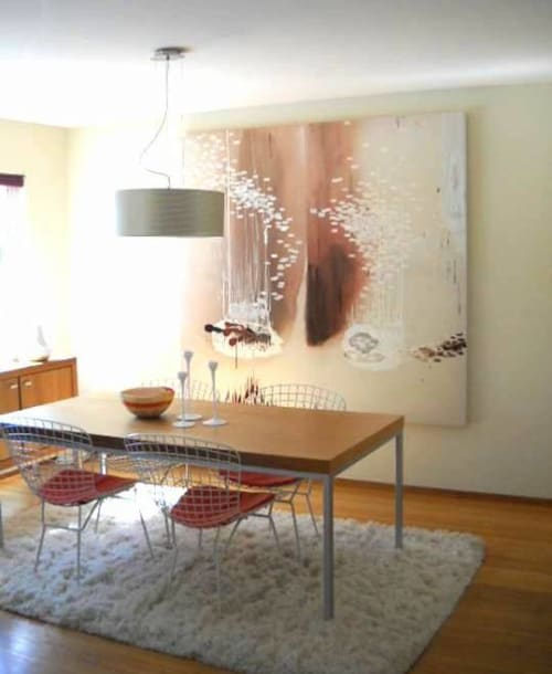 Paintings by Cynthia Ona Innis at Private Residence, San Francisco - Span