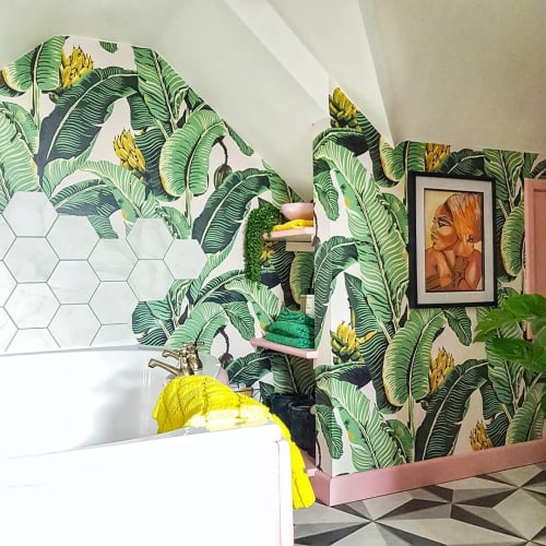 Tiles by British Ceramic Tile seen at This Girl Loves Color - Tile