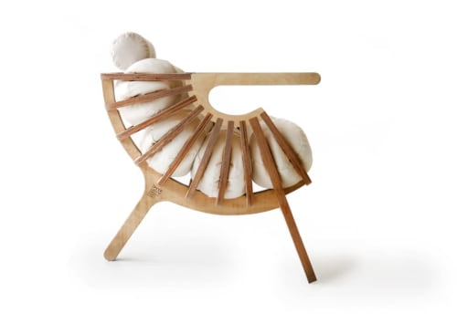 Chairs by Branca seen at W Fort Lauderdale, Fort Lauderdale - Shell chair