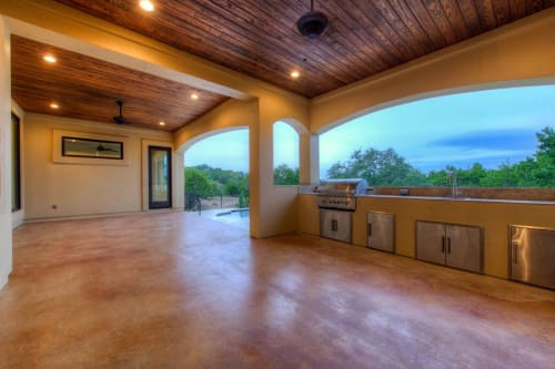 Architecture by Kipp Flores Architects seen at Spanish Oaks Golf Club, Austin - Plan 3449 Residential Project