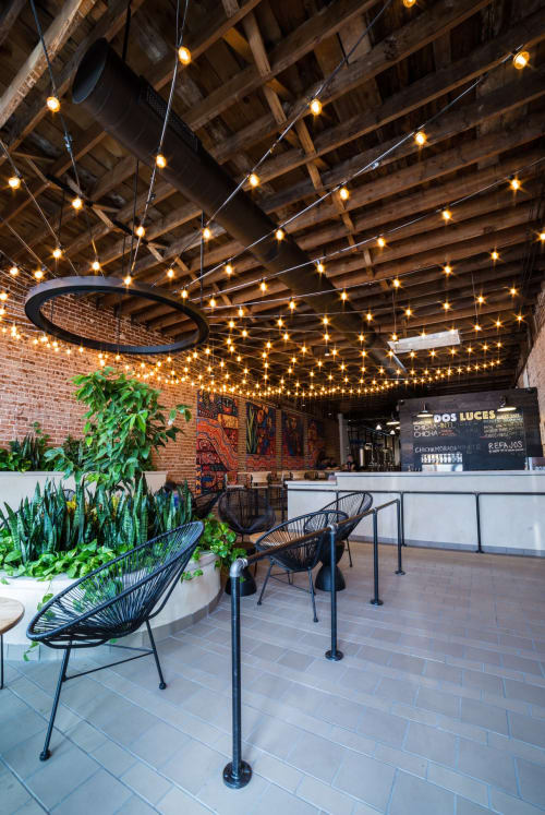 Dos Luces Brewery, Bars, Interior Design
