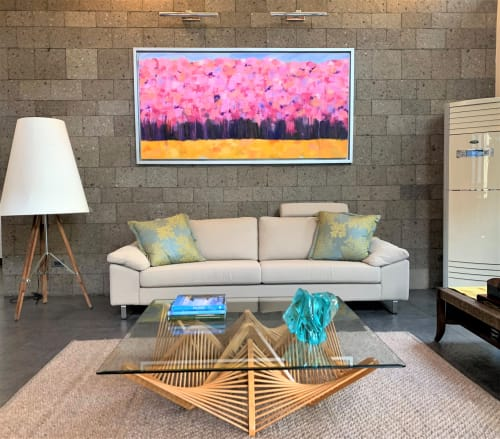Paintings by Malu Tan seen at Private Residence - Golden Harmony