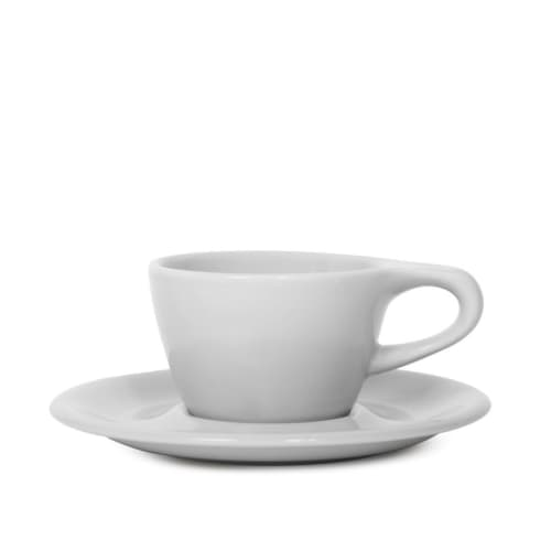 Cups by notNeutral seen at Hi-Top Coffee, Fresno - LINO Single Cappuccino Cup/Saucer