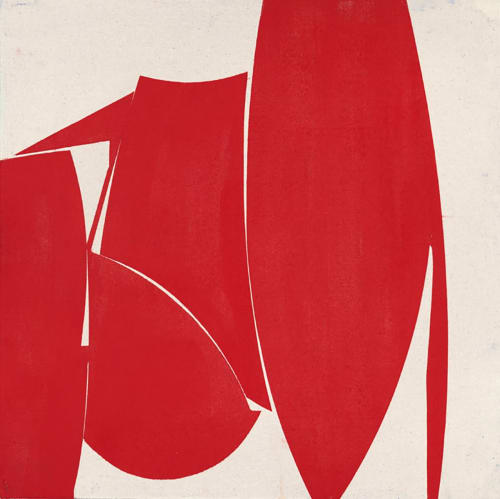 Space_17_Summer_15 | Paintings by Joanne Freeman | Amelie, Maison d'art - Art Room in Paris