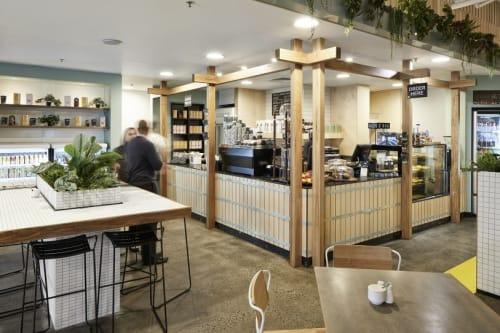 Interior Design by HOT BLACK at Arbor Cafe, Mulgrave - Interior Design