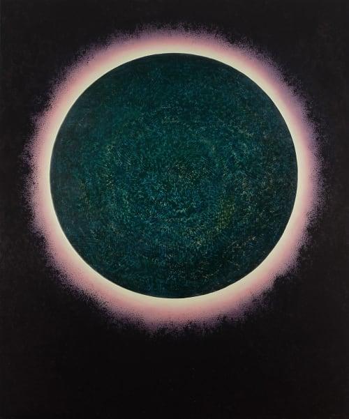 Paintings by Shawn Vales seen at Venus, Berkeley - Involution 24