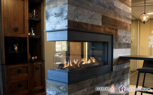 Interior Design by European Home seen at 30 Log Bridge Rd, Middleton - Lucius 100 Peninsula Gas Fireplace