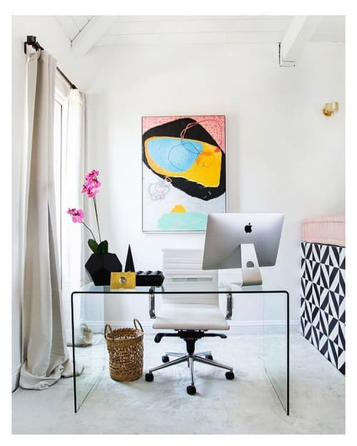 Paintings by Elisa Gomez Art seen at Private Residence, Denver - Colorful Abstract print