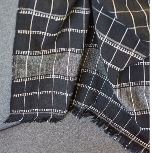 Linens & Bedding by Studio Variously seen at Creator's Studio, Bloomfield Hills - Charco Throw