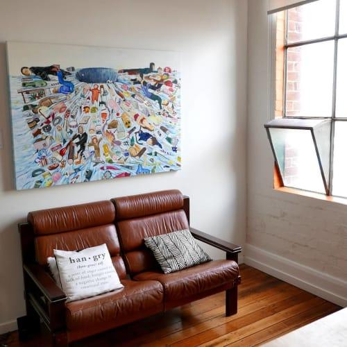 Paintings by Michael Hawkins seen at Inspire9, Richmond - Artwork