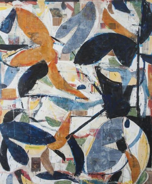 Paintings by Brad Ellis - Artist seen at Private Residence, Austin - Brad Ellis