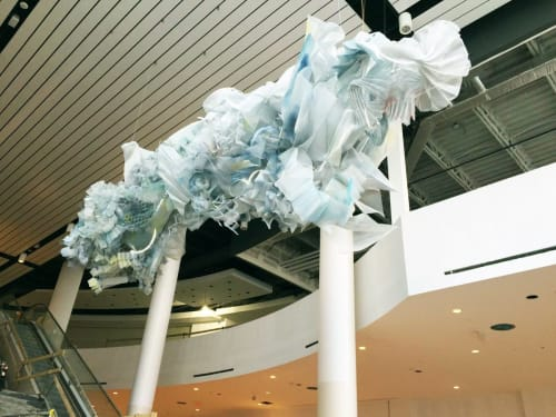 Public Sculptures by Julie Tremblay seen at Cineplex Cinemas Markham and VIP, Markham - Eon