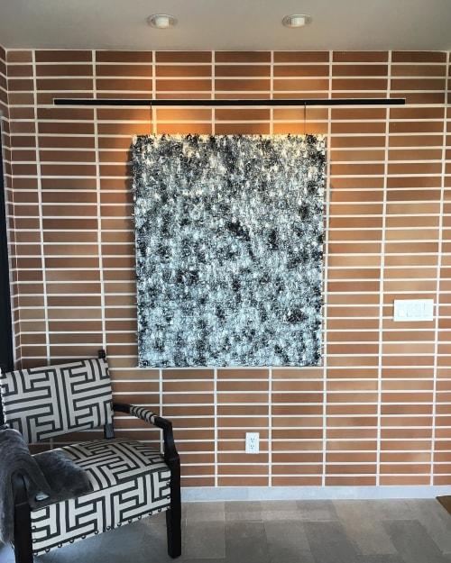 Art & Wall Decor by Kristina Grace seen at Private Residence, Newport Beach - Sunday Surf