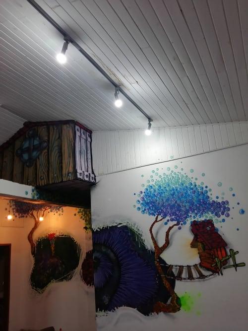 Paintings by Léo Araújo seen at Private Residence, São Paulo - Oculto