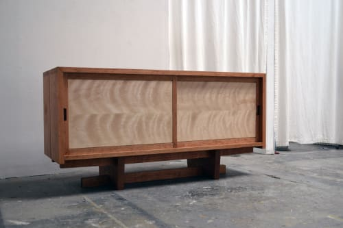 Furniture by Kanna Woodcraft seen at Creator's Studio, Oakland - Credenza