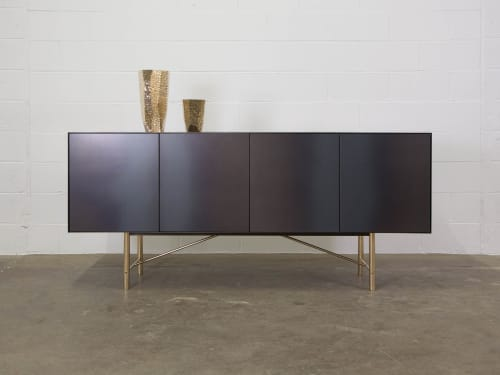 Furniture by New Format seen at New Format Studio, Vancouver - Connect Credenza