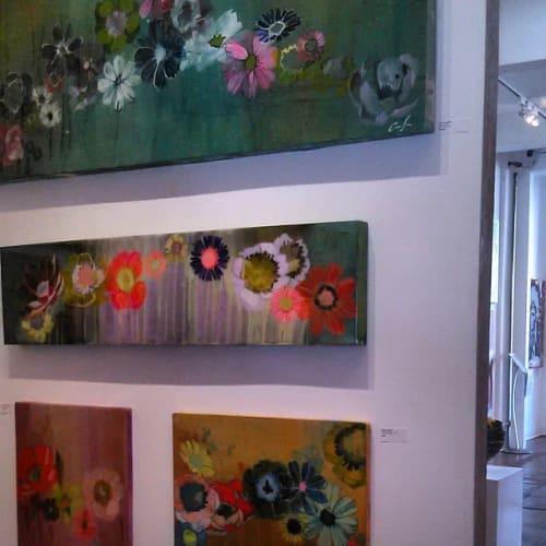 Paintings by Colleen Sandland Art seen at Artspace Warehouse, Los Angeles - Floral Paintings