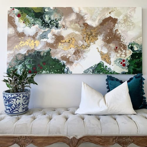 Paintings by Jes Velios seen at Private Residence, Bandung - Di Sogni e Distanza ~ of dreams and distance